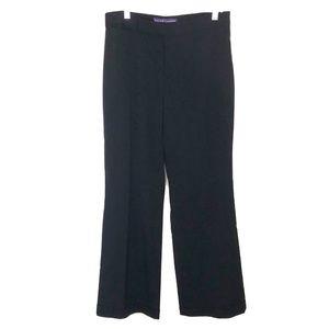 Ralph Lauren Vintage Black Womens Trouser Sz 4